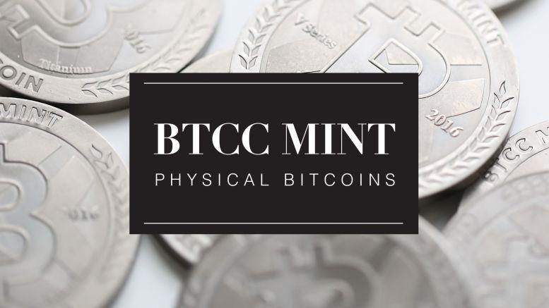 BTCC Introduces Its Limited Edition Titanium Physical Bitcoin