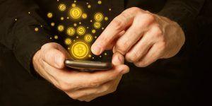 Bitcoins-On-Smartphone