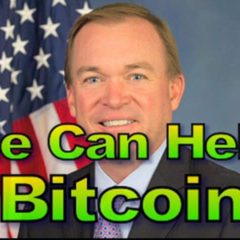 Trump's New Budget Director Supports Bitcoin, 1515