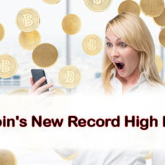 Bitcoin Price Jumped to a New Record High