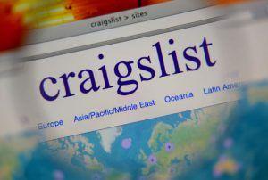 Craigslist homepage