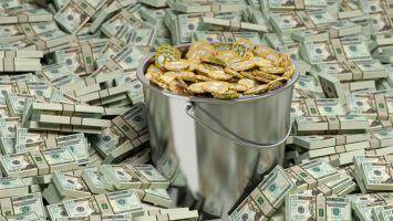 Bucket of Bitcoins