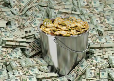 Bucket of Bitcoins