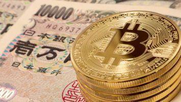 Bitcoin on Japanese Yen Bills