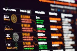 Bitcoin exchange to dollar rate on monitor