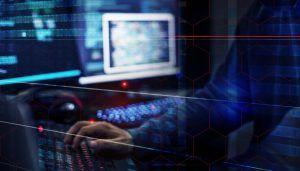 Hacker data system hacking.
