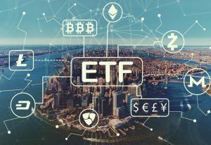 ETF connected to different cryptocurrencies.