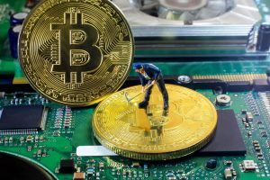 Mining Bitcoin.