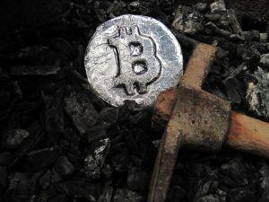 Bitcoin minig malware.