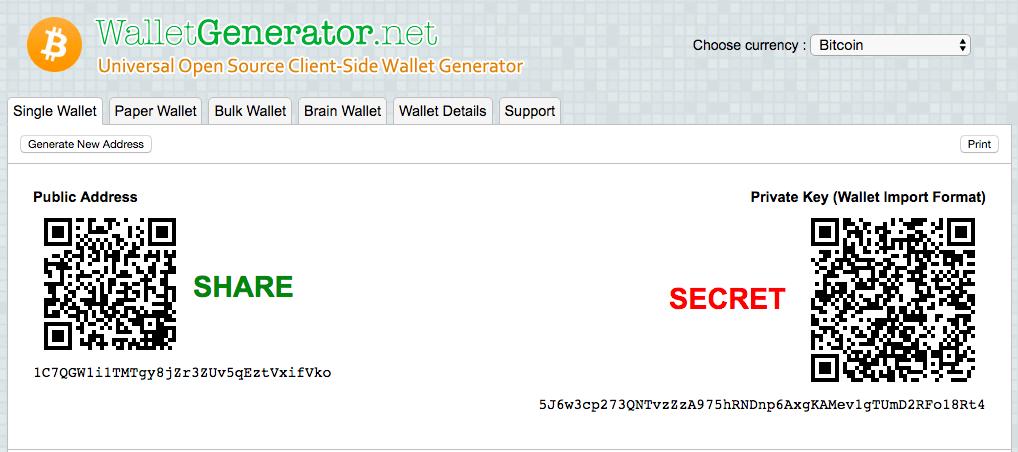 Walletgenerator.net bar code screenshot