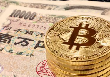 Bitcoin on Japanese Yen Bills.