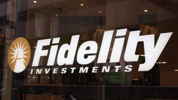 Fidelity Investments is pictured in New York City.