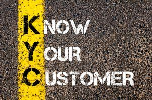KYC know your customer.