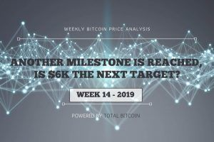 Weekly Bitcoin Price Analysis: Another Milestone Is Reached, Is $6K the Next Target?