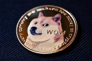 An image featuring a Dogecoin