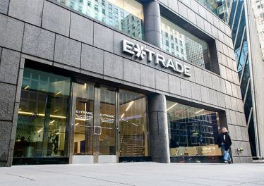 An image featuring the Etrade building